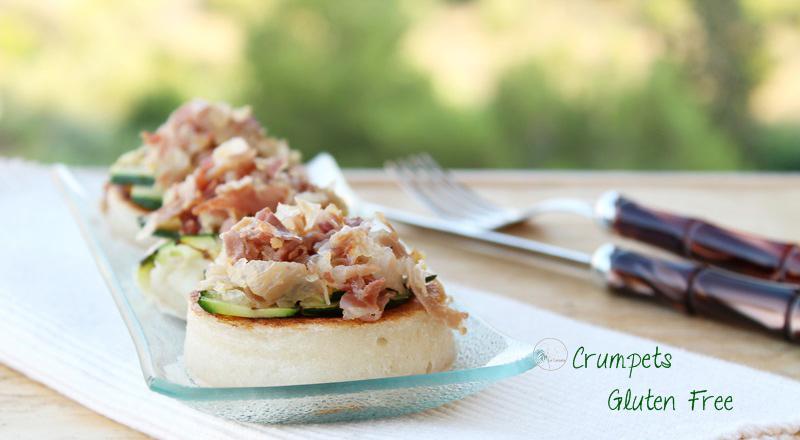 Crumpets salati senza glutine