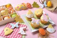 Cupcakes e biscotti di Pasqua