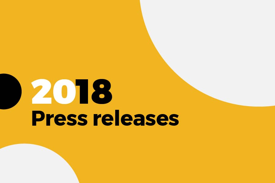 2018 Press releases