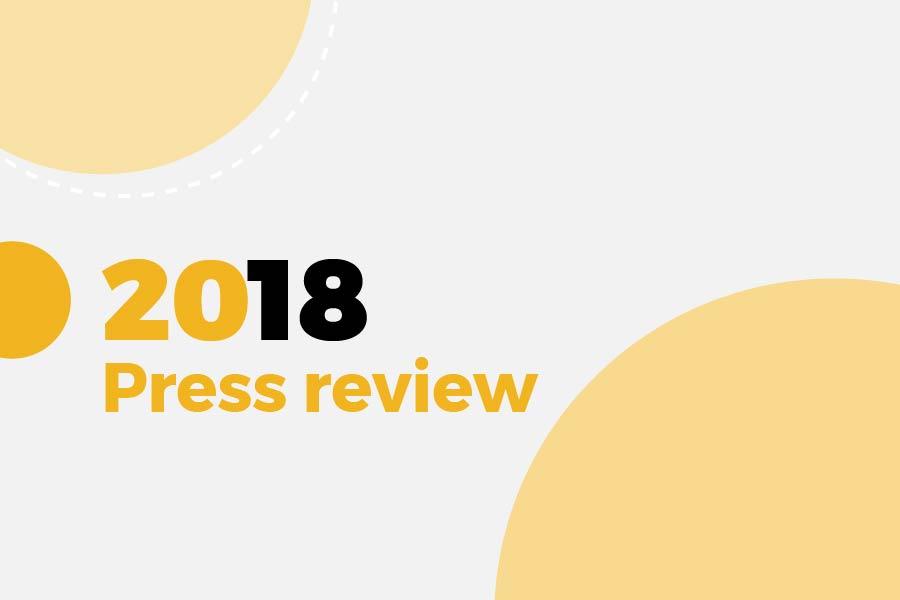 2018 Press review