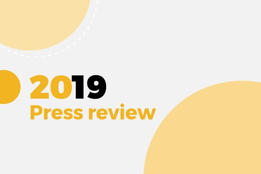 2019 Press review