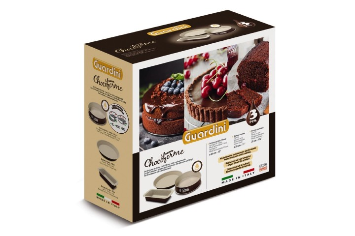 LE NUOVE CHOCOFORME gift box, 3 pcs