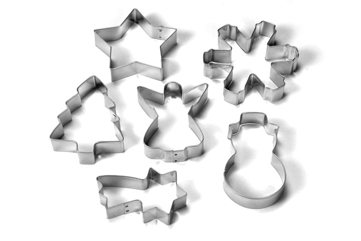 Cookie cutters (Christmas)