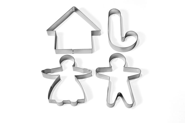 Cookie cutters (Gingerbread)