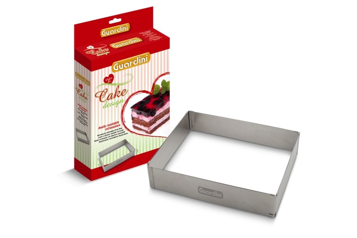 Cadre à patisserie règlable rectangle