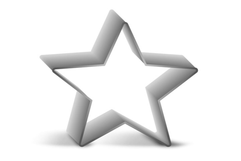 Stampo Stella Di Natale.Stampo Per Pan Di Spagna Stella Di Natale Guardini