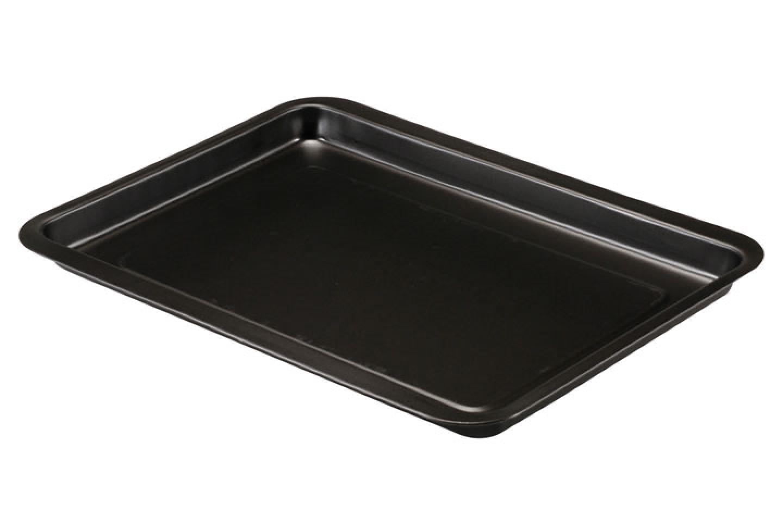 Guardini ARIANNA Plaque /à four rectangulaire 32x37 cm Acier antiadh/ésif Noire 32x37 cm