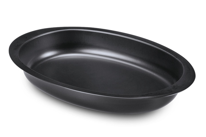 Oval baking pan