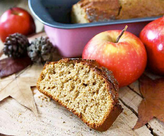 Cake al succo di mela e melograno