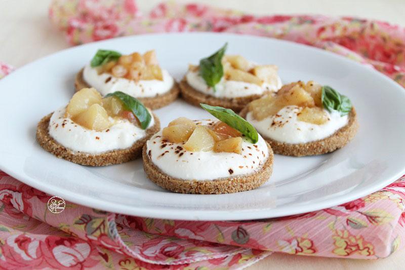 Cheesecake salate senza glutine